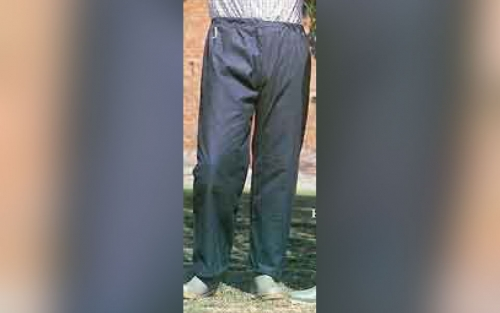 Lined Wax Trousers